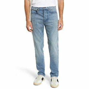 Rag & Bone Mens light wash fit 2 slim jeans sz 29